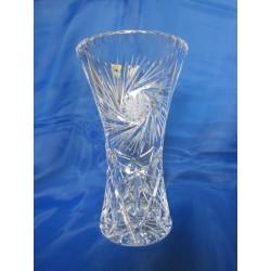 Váza- olovnatý křišťál, 26008/Větrník, 205 mm