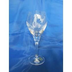 Skleničky na červené víno - olovnatý křišťál, Orchidej, 340 ml, 6 ks