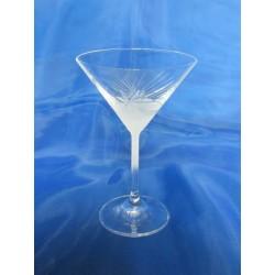 Skleničky na martini, Pískované, 180 ml, 6 ks