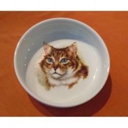 Miska Mischa s motivem kočky č. 3, 15 cm
