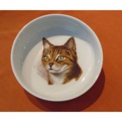 Miska Mischa s motivem kočky č. 4, 15 cm