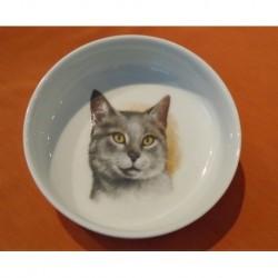 Miska Mischa s motivem kočky č. 5, 15 cm
