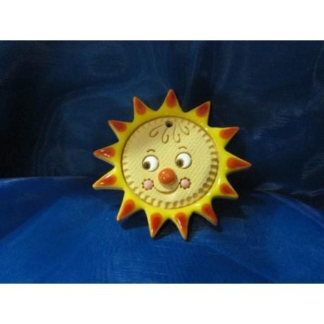 Sluníčko keramické, 5,5 cm