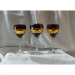 Sklenice na víno 6 ks, Rubín, 180 ml