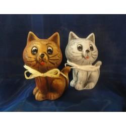 Kasička kočka malá keramická, 16 cm