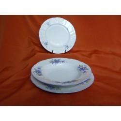 Sada talířů Bernadotte (18ks), 292251/Pomněnka