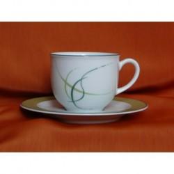 Šálek s podšálkem na kávu Opál (6ks), 80216, 135 ml