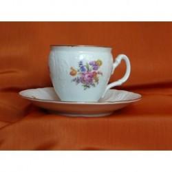 Šálek s podšálkem na kávu Bernadotte (6ks), 5309011/ Kosatec, 160 ml