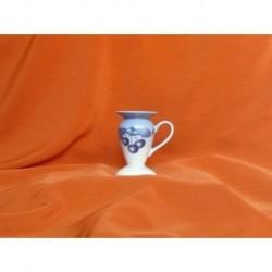 Svícen Saphyr, Blue Cherry, 9 cm