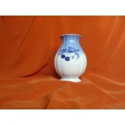 Váza Rose malá, Blue Cherry, 185 mm