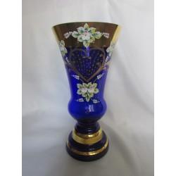 Váza, Smalt, 25 cm,/Modrá